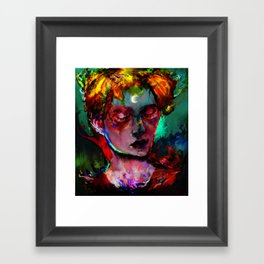 can you feel? Framed Art Print