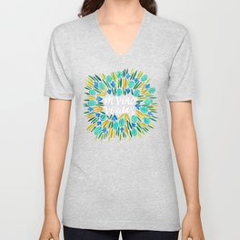 In Wine, There is Truth – Spring Palette Unisex V-Neck