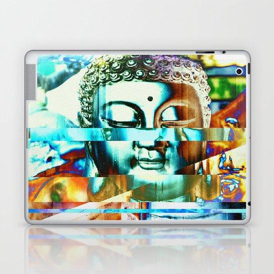 Glitch Buddha #3 Laptop & iPad Skin