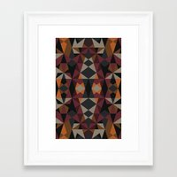mirror Framed Art Prints featuring Mirror by Leandro Pita