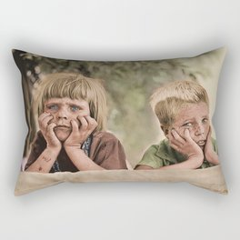 Oklahoma Refugee Children 1936 Rectangular Pillow