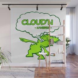 Cloud'n Wall Mural