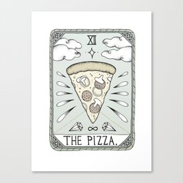 The Pizza Canvas Print