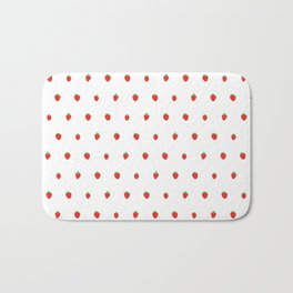 Strawberry Fields Bath Mat