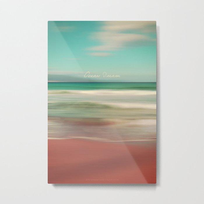 Ocean Dream IV Metal Print
