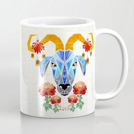 chinese goat Coffee Mug