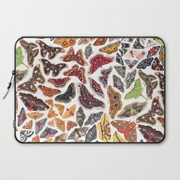 Saturniid Moths of North America Pattern Laptop Sleeve