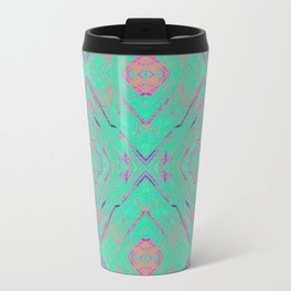 Green marble effect Travel Mug