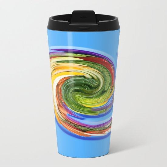 The whirl of life, W1.9C Metal Travel Mug