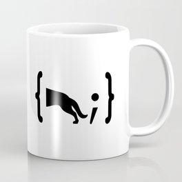 Full Stack German Shepherd - Front End / Back End Developer Dog Black Coffee Mug