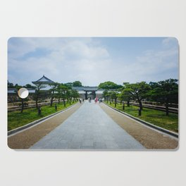 Osaka Castle Cutting Board