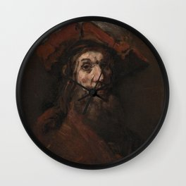 Rembrandt - The Crusader Wall Clock