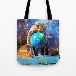 Give Planet Earth A Bear Hug! Tote Bag