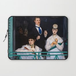 Edouard Manet - The Balcony / Le Balcon Laptop Sleeve