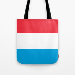 Flag: Luxembourg Tote Bag