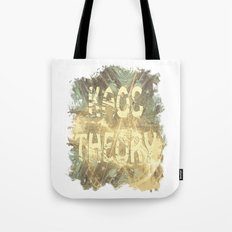Kaos theory on sandy fractal Tote Bag