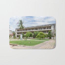 S21 Building C - Khmer Rouge, Cambodia Bath Mat