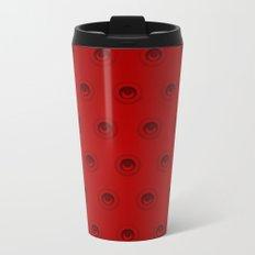Eyes Red Metal Travel Mug