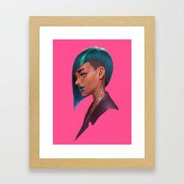 Jes Framed Art Print