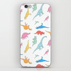 Dino Doodles iPhone & iPod Skin