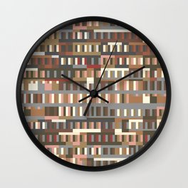 Beethoven Moonlight Sonata (Coffee Colours) Wall Clock