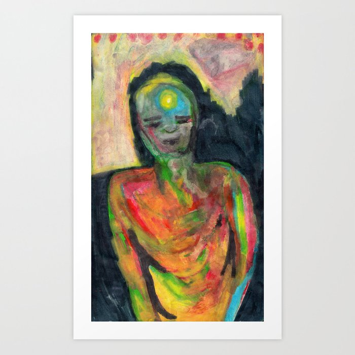 Spirit/Figure Art Print