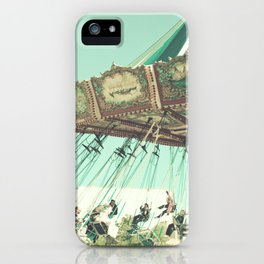 Winter Swing Chairs  iPhone Case