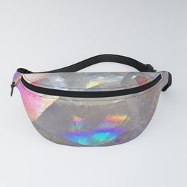 Rainbow Angel Aura Crystal Fanny Pack