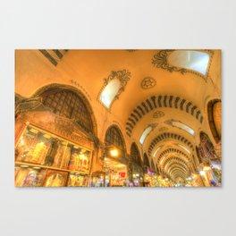 The Spice Bazaar Istanbul Canvas Print