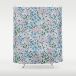 In the fairy garden Shower Curtain