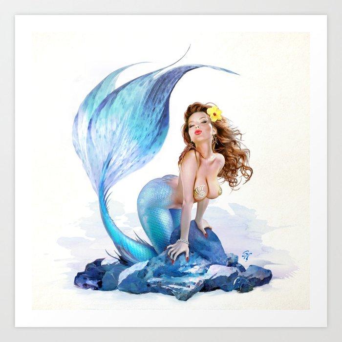 Little Mermaid Art Print by sferris