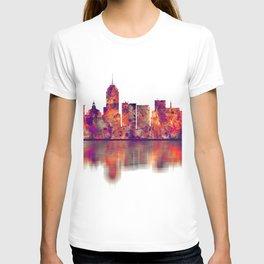 Fresno California Skyline T-shirt
