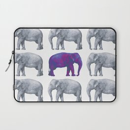 Elephants II Laptop Sleeve