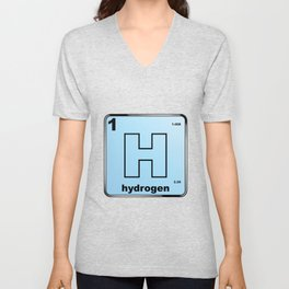 Hydrogen From The Periodic Table Unisex V-Neck