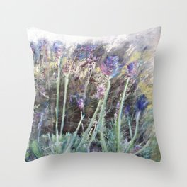 Lavender Blue 2 Throw Pillow