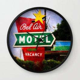 Vacancy in Austin Wall Clock
