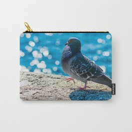 Phenomenal Adorable City Bird Waterfront Shoreline Zoom UHD Carry-All Pouch