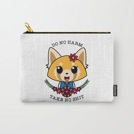 Fight Like A Girl. Carry-All Pouch