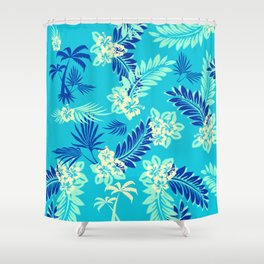 GTA Floral Hawaii Shower Curtain