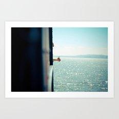 Staten Island Ferry  Art Print