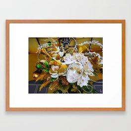 Mascarade I Framed Art Print