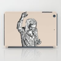 harry styles iPad Cases featuring Harry Styles by Cécile Pellerin