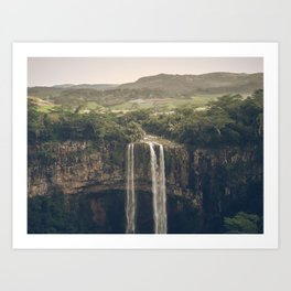 Waterfall 03 Art Print