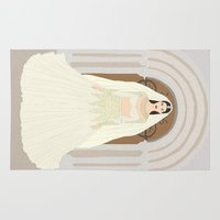 bride Area & Throw Rugs featuring The Bride by RaJess