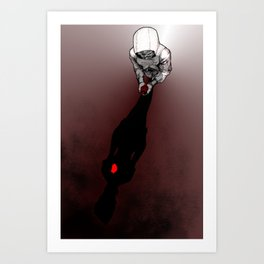 DISHONORED-Her Heart Art Print