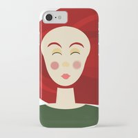doll iPhone & iPod Cases featuring Doll by Catherine A.