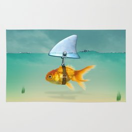 gold fish Rug