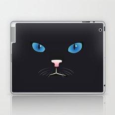 Little black cat Laptop & iPad Skin