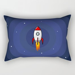 Welcome To The Space Rectangular Pillow