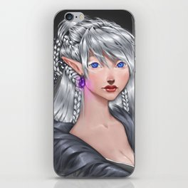 The White Mage iPhone Skin
